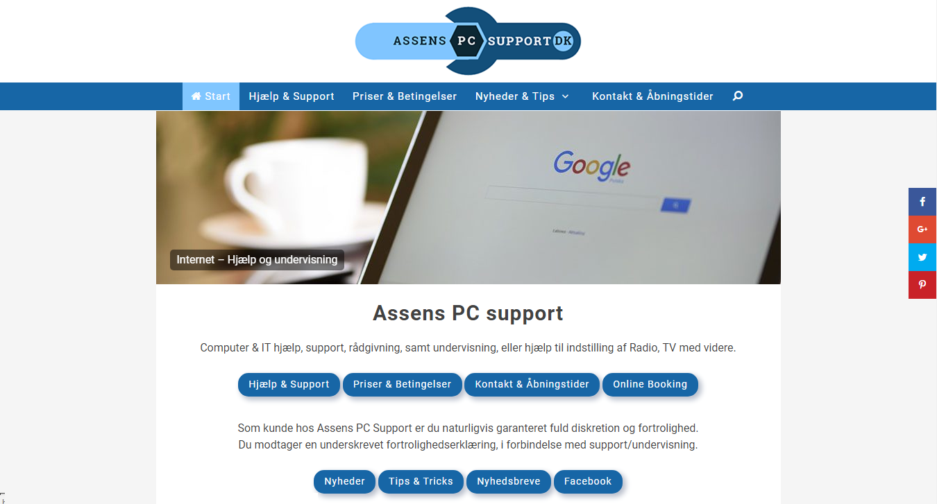 Assens PC support