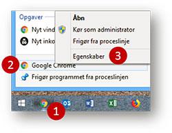 Anonym surfing i Chrome