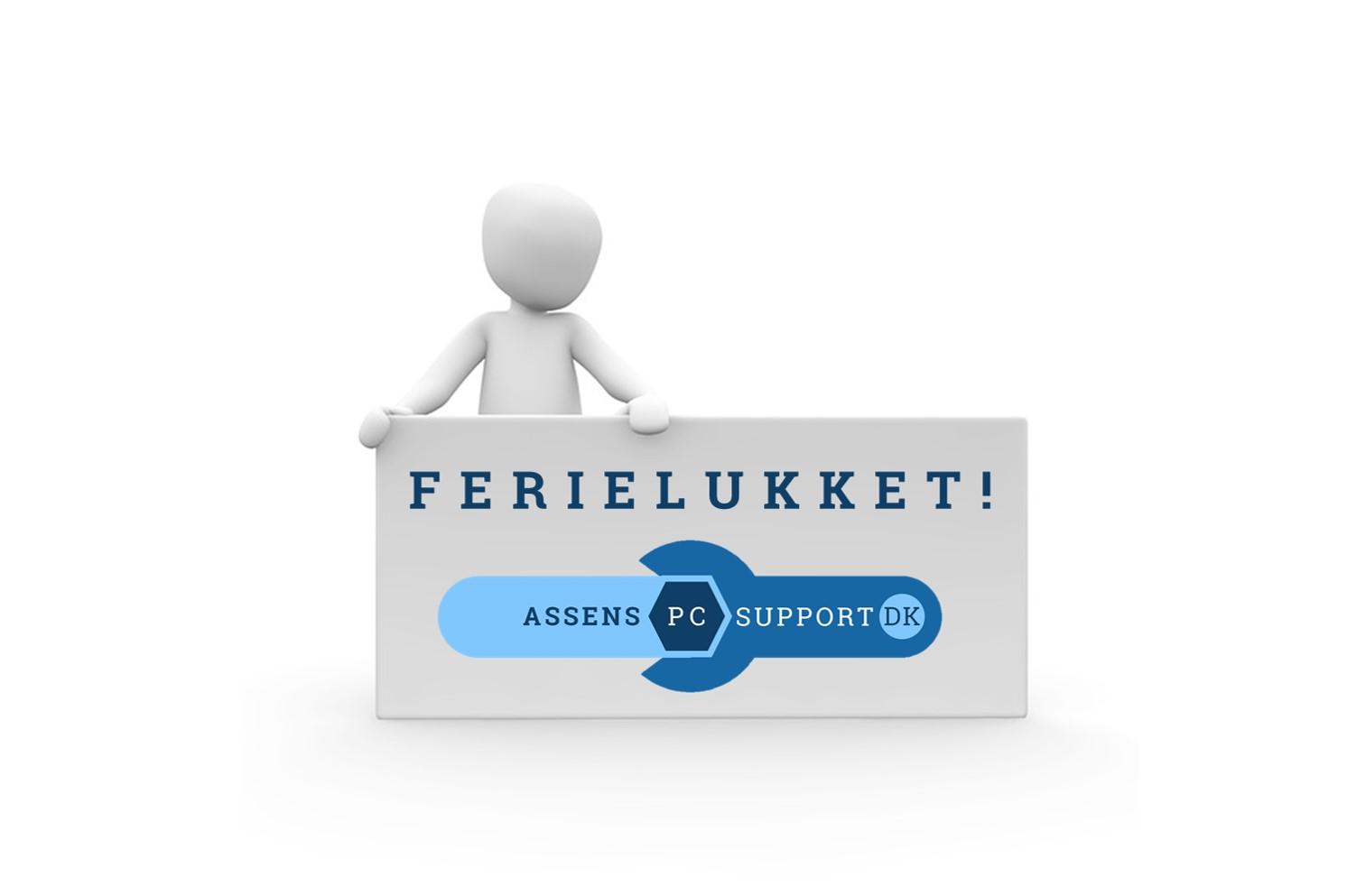 AssensPCsupport.dk - Ferielukket